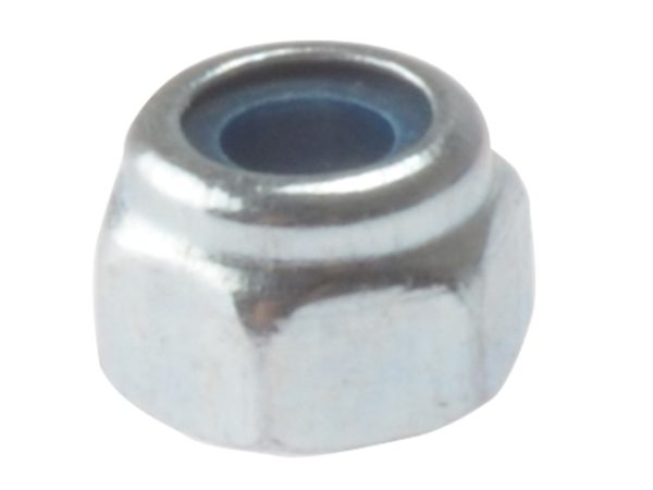 Hexagon Nut & Nylon Insert ZP M16 Bag 10