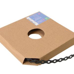 Black Plastic Coated Pre-Galvanised Band 12mm x 0.8 x 10m Box 1