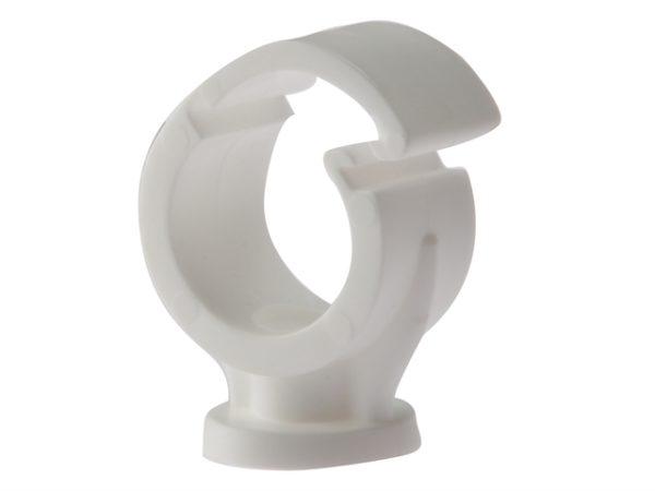 Pipe Clip Single Cliplock 15mm Box 100