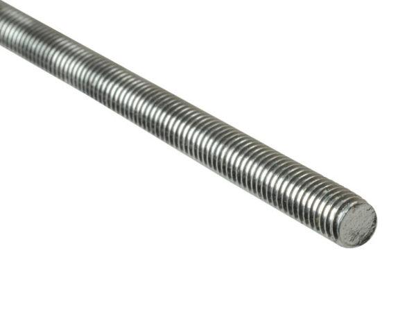 Threaded Rod Stainless Steel M12 x 1m Single