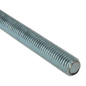Threaded Rod Zinc Plated M8 x 1m Single