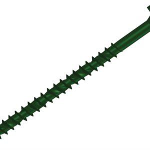 Hexagonal/Torx® Compatible Timber T30 Screws Green 7x100mm Tub 50