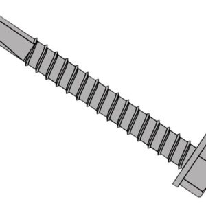 TechFast Roofing Sheet to Steel Hex Screw No.3 Tip 5.5 x 45mm Box 100