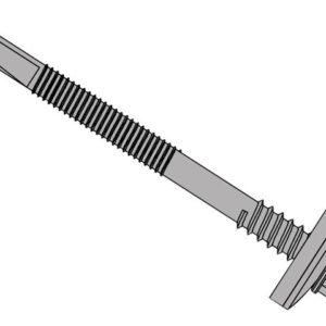 TechFast Composite Panels to Steel Hex Screw No.5 Tip 5.5 x 130mm Box 100