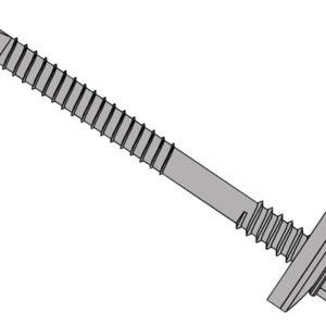 TechFast Composite Panels to Steel Hex Screw No.3 Tip 5.5 x 60mm Box 100