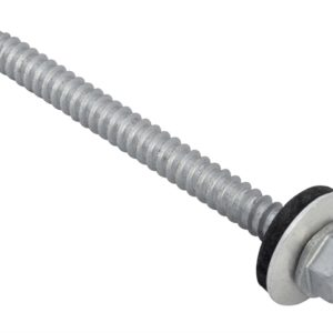 TechFast Hex Head Roofing Screw Self-Drill Light Section 5.5 x 70mm Pack 50
