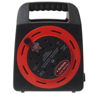 Easy Reel Cable Reel 50 Metre 13 Amp with 2 Socket 240 Volt