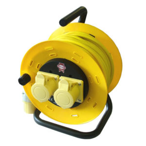 Cable Reel 50m 16 amp 1.5mm Cable 110V