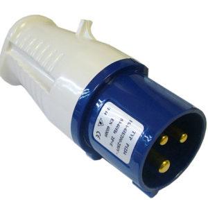 Blue Replacement Plug 240 Volt 16 Amp
