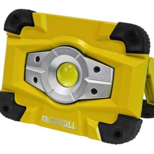 Faithfull Rechargeable Worklight with Magnetic Base 10W