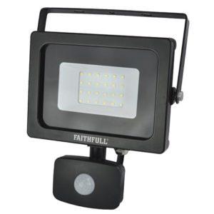 SMD LED Security Light with PIR 20W 1600 Lumen 240V