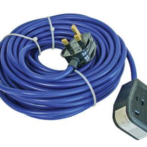 Trailing Lead 240 Volt 13 Amp 1.5mm Cable 14 Metre