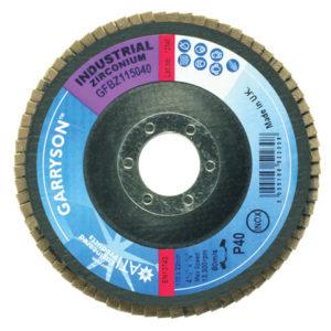 Industrial Zirconium Flap Disc 180 x 22mm - 36 grit Coarse
