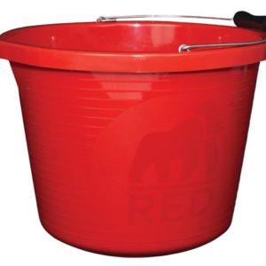 Premium Bucket 3 Gallon (14L) - Red