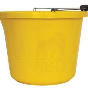 Premium Bucket 3 Gallon (14L) - Yellow