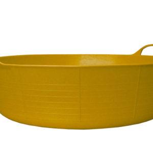 Gorilla Tub® Shallow 35 litre - Yellow