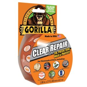Gorilla Tape Crystal Clear 48mm x 8.2m