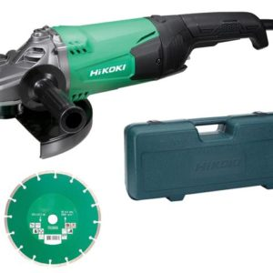 G23STCD/J1 Angle Grinder 230mm Diamond Blade & Case 2000W 240V