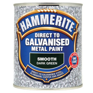 Direct to Galvanised Metal Paint Dark Green 750ml