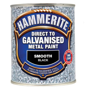 Direct to Galvanised Metal Paint White 750ml