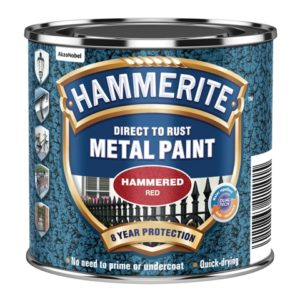 Direct to Rust Hammered Finish Paint Red 250ml