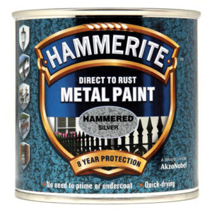 Direct to Rust Hammered Finish Metal Paint Black 2.5 Litre
