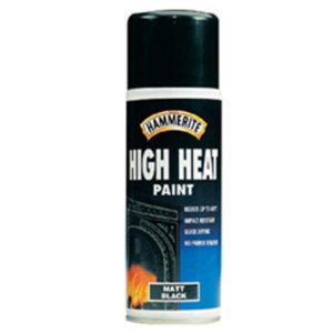 High Heat Paint Aerosol Black 400ml