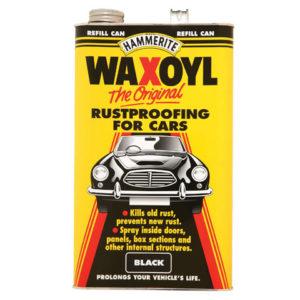 Waxoyl Refill Can Black 5 Litre