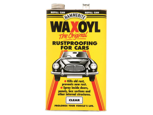 Waxoyl Refill Can Clear 5 Litre