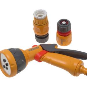2347 Multi-Pattern Spray Gun Starter Set with Fittings