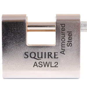 ASWL2 Steel Armoured Warehouse Padlock 80mm