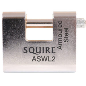 ASWL2KA Steel Armoured Warehouse Padlock 80mm Keyed Alike
