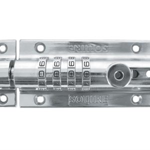 Combi 4 Re-Codeable Locking Bolt 120mm - Chrome