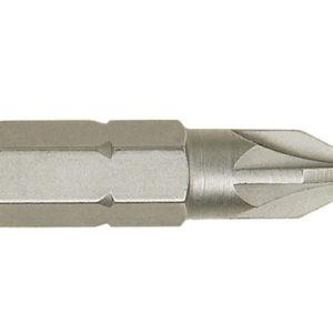 Screwdriver Bits Pozi PZ2 25mm Pack of 10