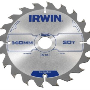 Construction Circular Saw Blade 140 x 20mm x 20T ATB