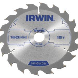 Construction Circular Saw Blade 150 x 20mm x 18T ATB