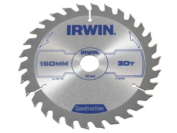 Construction Circular Saw Blade 150 x 20mm x 30T ATB