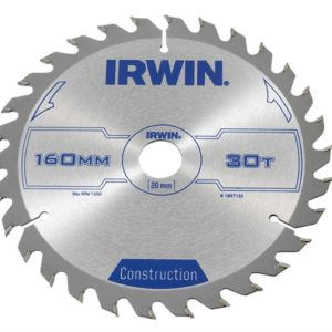 Construction Circular Saw Blade 160 x 20mm x 30T ATB
