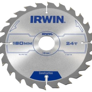 Construction Circular Saw Blade 180 x 30mm x 24T ATB