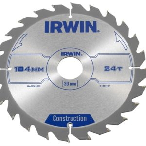 Construction Circular Saw Blade 184 x 30mm x 24T ATB