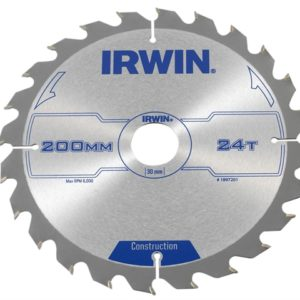 Construction Circular Saw Blade 200 x 30mm x 24T ATB