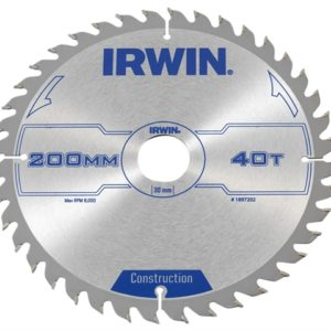 Construction Circular Saw Blade 200 x 30mm x 40T ATB