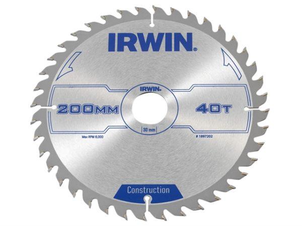 Construction Circular Saw Blade 200 x 30mm x 40T ATB