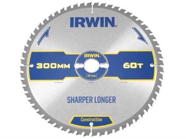 Construction Table & Mitre Circular Saw Blade 300 x 30mm x 60T ATB