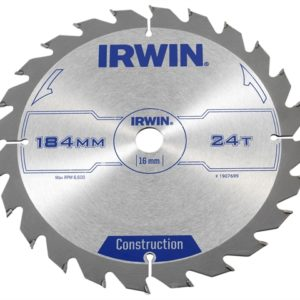 Construction Circular Saw Blade 184 x 16mm x 24T ATB