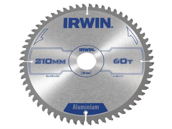 Professional Aluminium Circular Saw Blade 210 x 30mm x 60T TCG