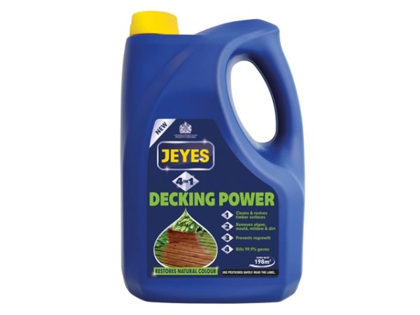 4-In-1 Decking Power 4 Litre