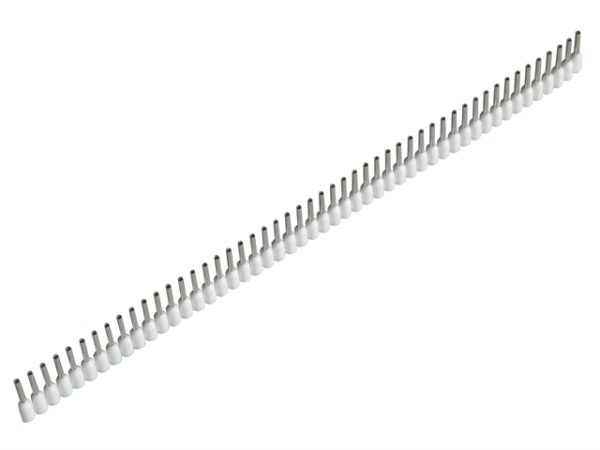 Wire End Sleeves 0.5 x 8mm White 500 Piece