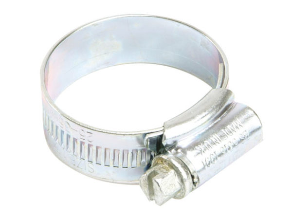 00 Zinc Protected Hose Clip 13 - 20mm (1/2 - 3/4in)