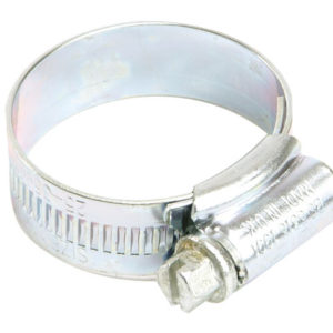 0X Zinc Protected Hose Clip 18 - 25mm (3/4 - 1in)